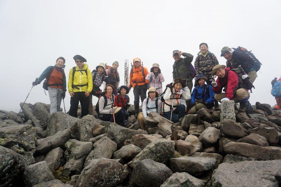 DSC00755蓼科山山頂