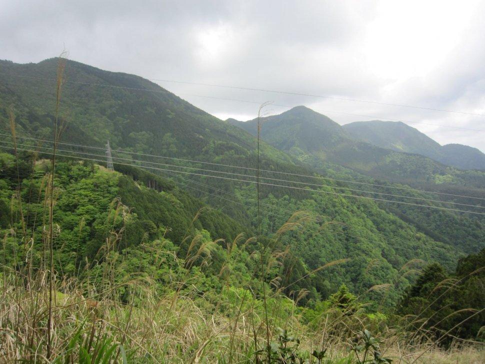 湯の岳、真富士方面