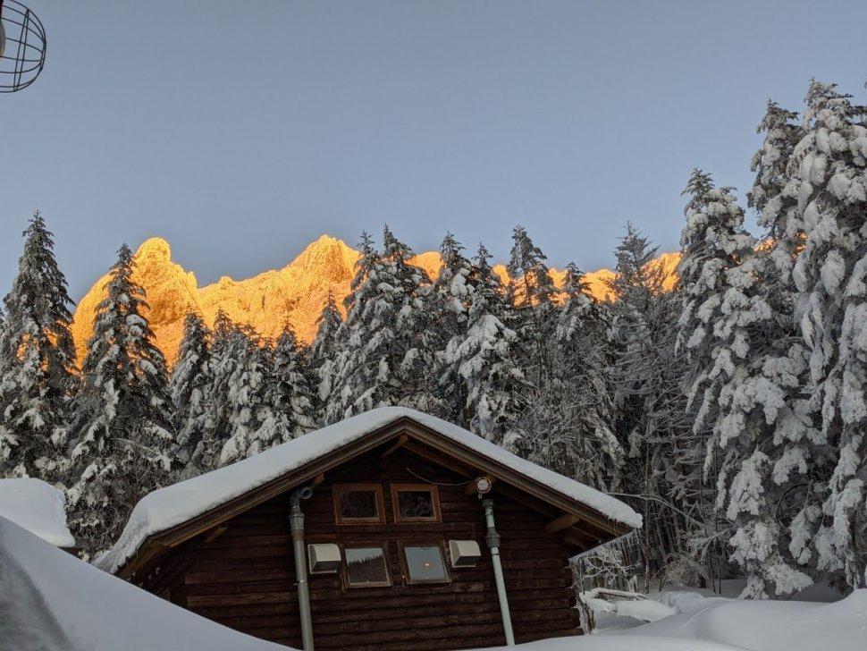 アーベントロート赤岳鉱泉